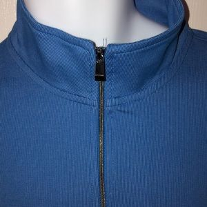 Calvin Klein Shirts - NWT CALVIN KLEIN BLUE QUARTER ZIP PULLOVER SHIRT